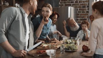 O papel da cozinha na dinâmica familiar