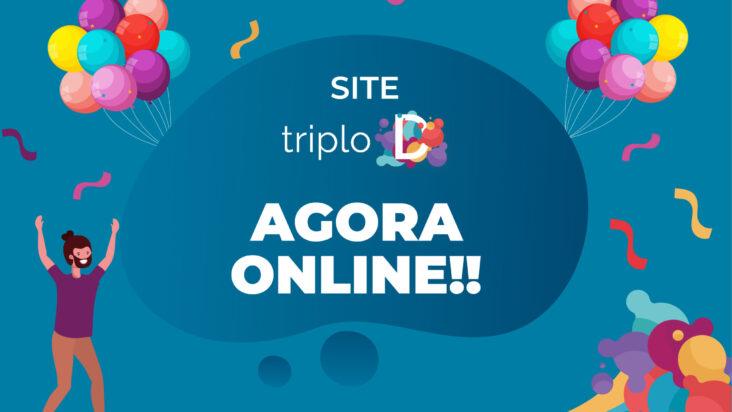 Novo site do Projeto Triplo D
