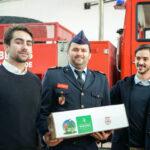 Rnters doa 30 mil euros aos Bombeiros Voluntários Portugueses