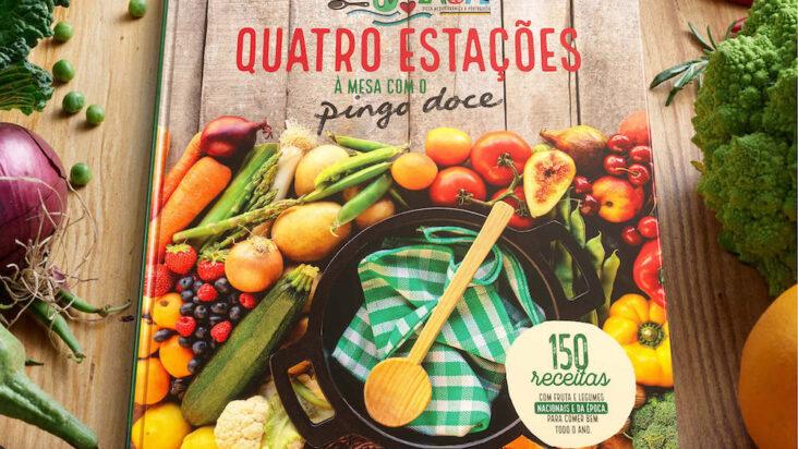 Pingo Doce lança novo livro de receitas que promove o consumo de ingredientes frescos das 4 estações do ano